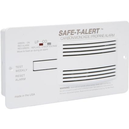 Safe-T-Alert Carbon Monoxide/Propane Alarm - Brown
