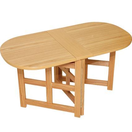 Folding Coffee Table - Oak