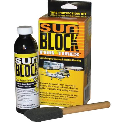SunBlock For Tires Treatment Kit