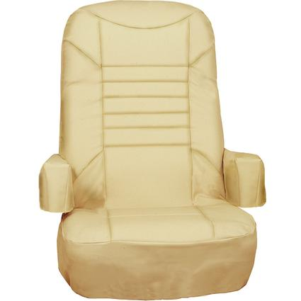 Captain's Chair Covers, 2 pack - Tan