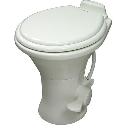Dometic High Profile 310 Series Gravity Discharge Toilets - White
