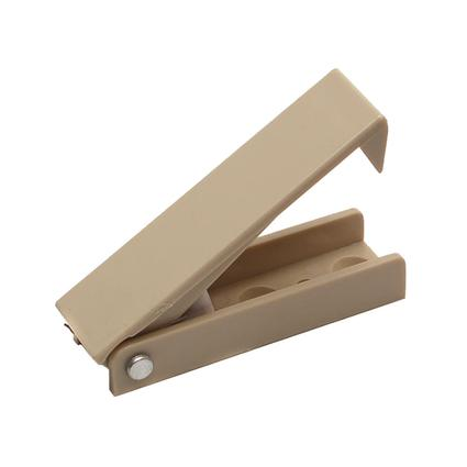 Squared Baggage Door Catch - Beige