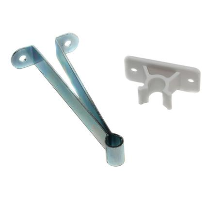 Metal Entry Door Holder with Plastic Clip - 4