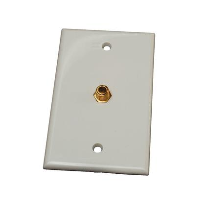 Interior TV Wall Plate - White
