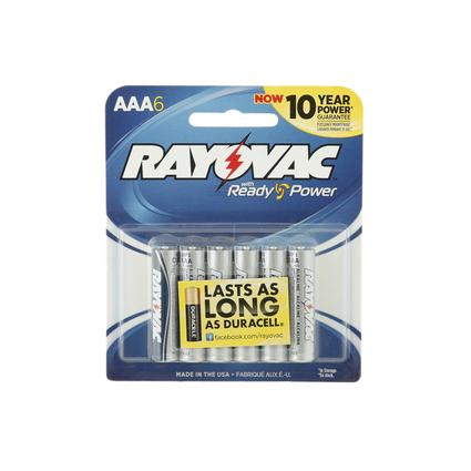 Rayovac AAA Batteries, 6-pack
