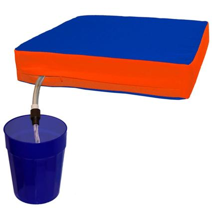 The Sippin' Seat- Blue/Orange