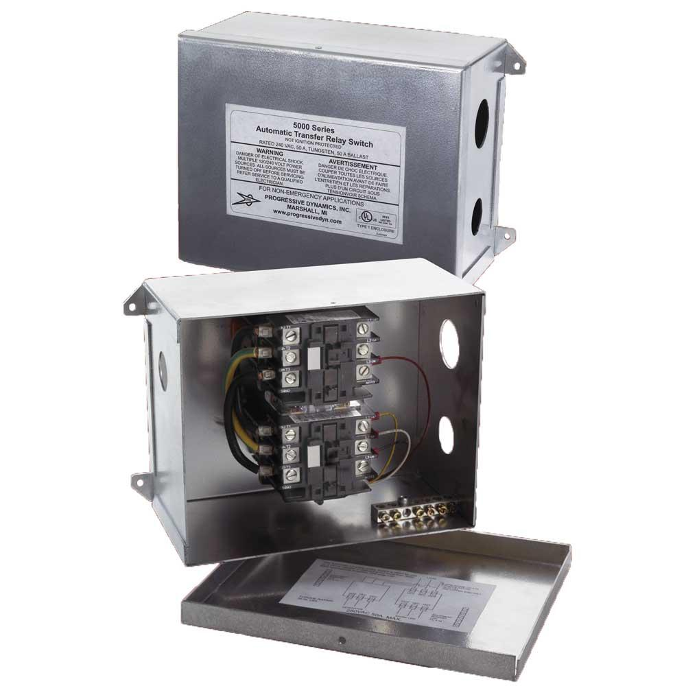 Image 50 Amp Automatic Transfer Switch. To Enlarge the image, click