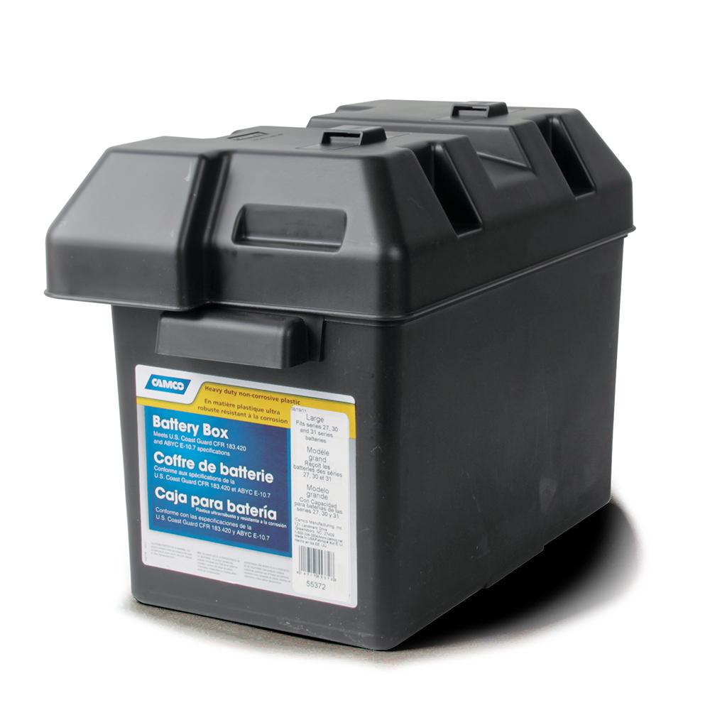Battery Box Large Camco 55372 Battery Accessories Autos Post