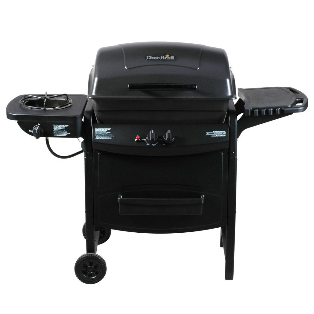 char broil gas grill with side burner char broil 463720112 gas grills camping world. Black Bedroom Furniture Sets. Home Design Ideas