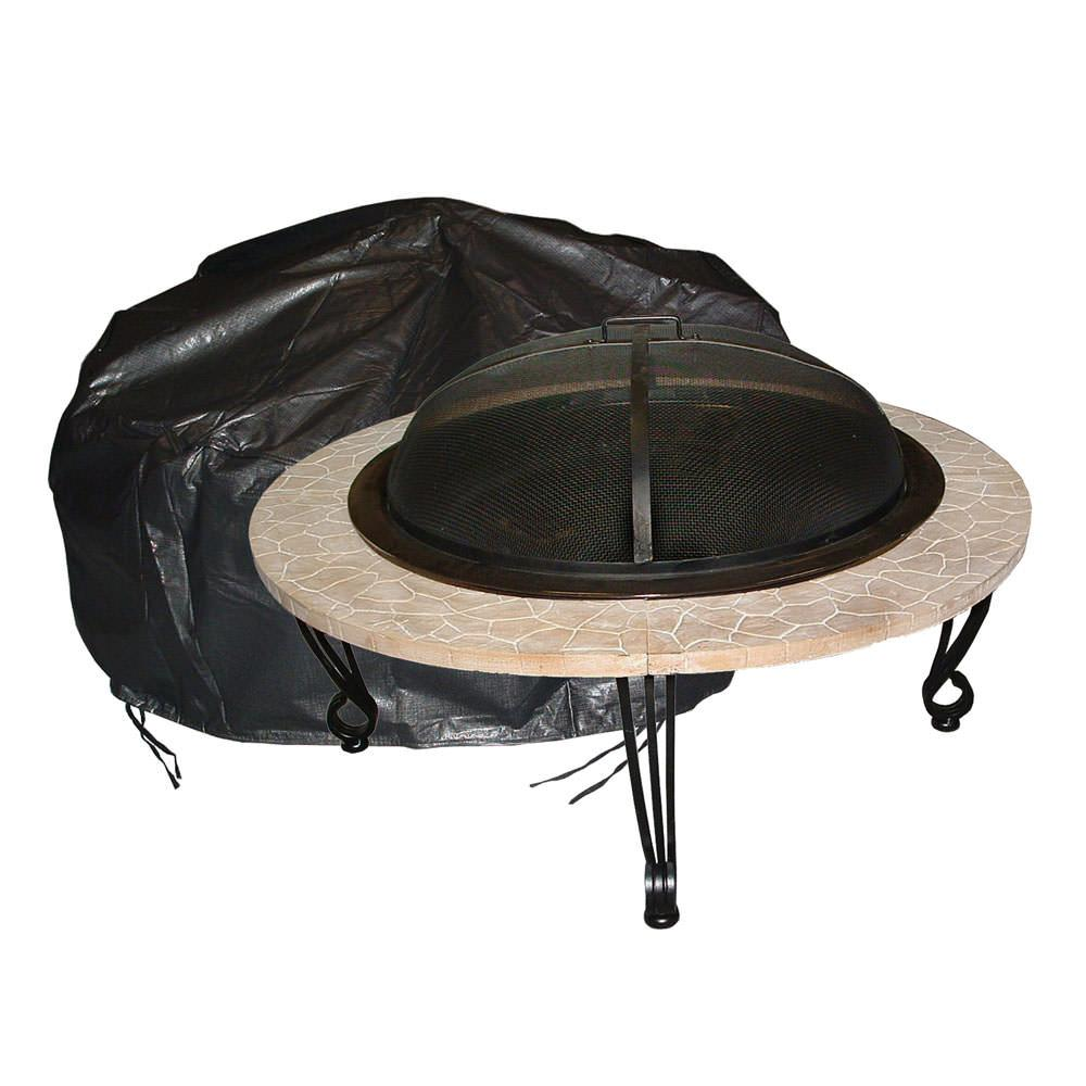 Round Fire Pit Cover - Fire Sense 02126 - Fire Pits ...