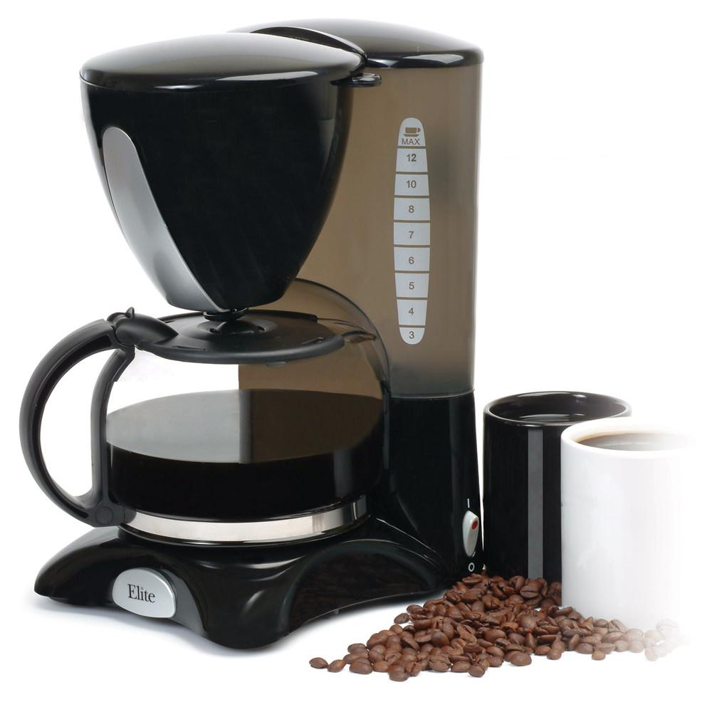 Best Coffee Maker Camping : Elite 12-cup Coffee Maker - Maxi-Matic EHC-2066X - Coffee Makers - Camping World