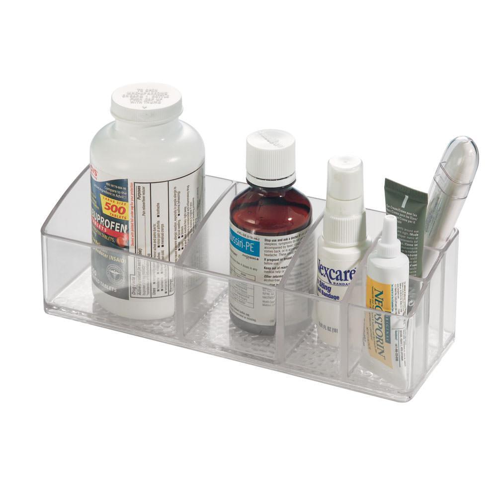Med organizer interdesign 42730 bathroom accessories for Bathroom accessories organizer