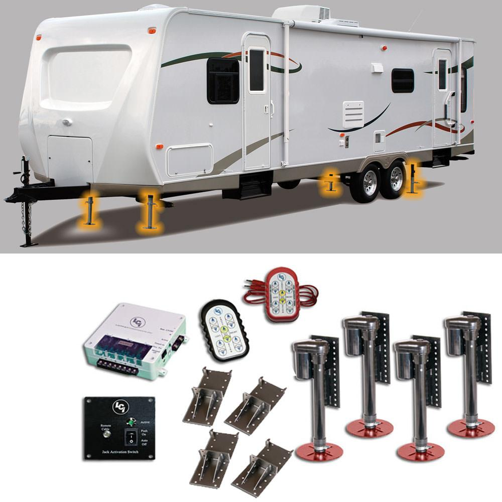 Hydraulic Leveling Systems For Travel Trailers
