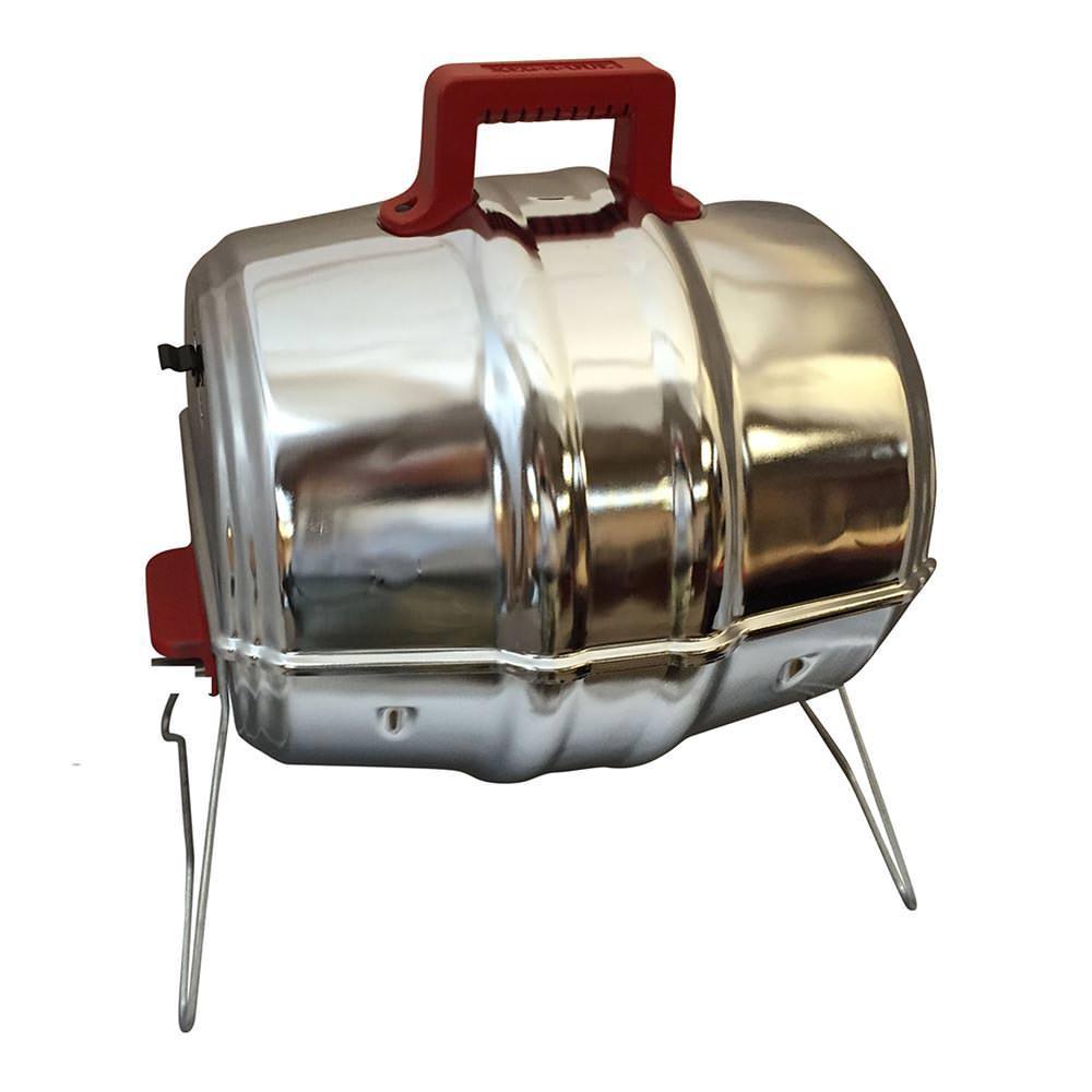 keg a que portable charcoal grill keg 10004orgr charcoal grills camping world. Black Bedroom Furniture Sets. Home Design Ideas