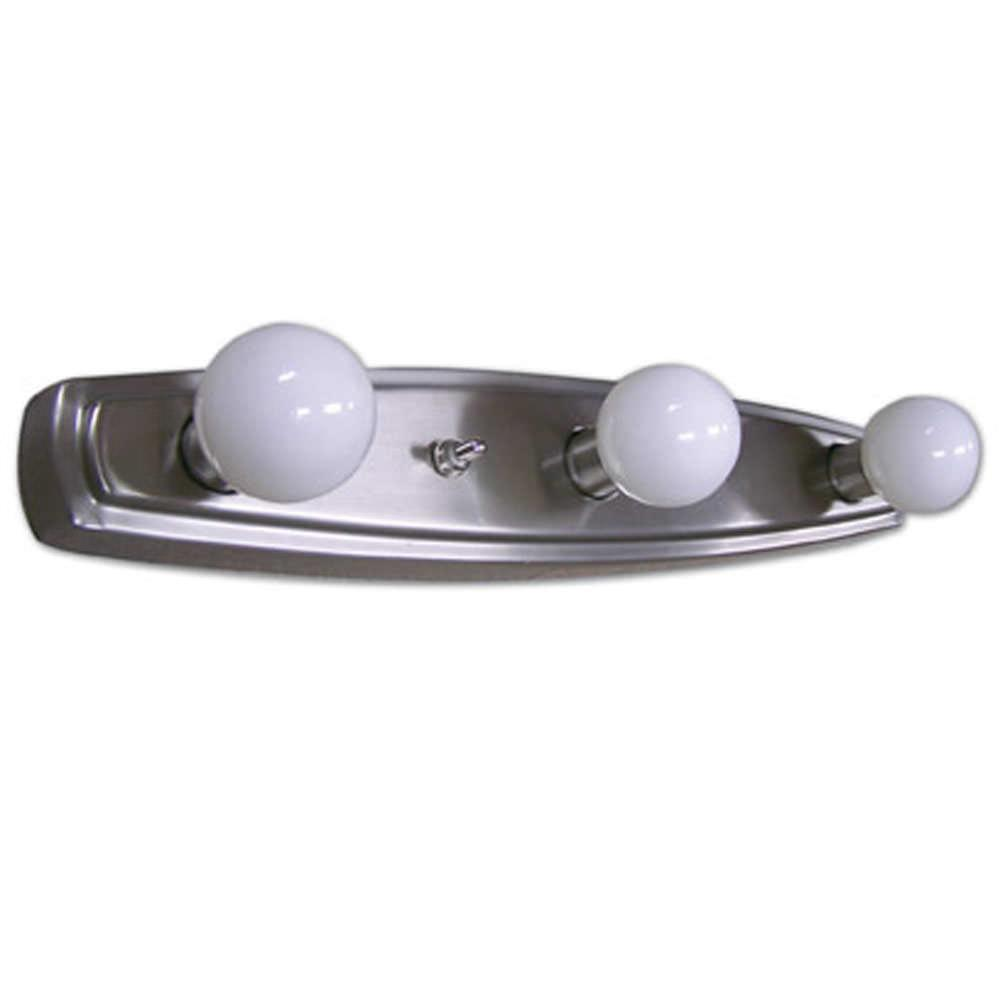 Vanity Lights For Rv : Mirage Three Bulb Vanity Light - ITC 3445E-SA38100DB - Light Fixtures - Camping World