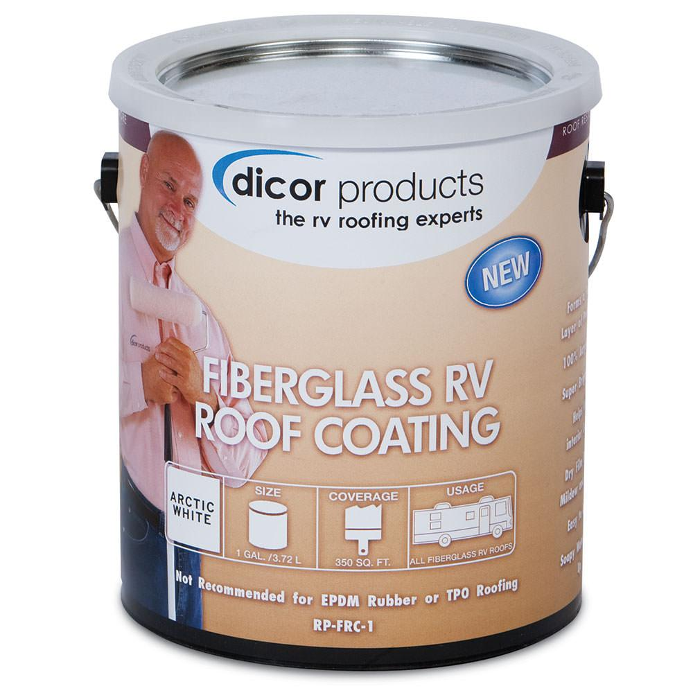 Dicor Fiberglass Rv Roof Coating Gallon Dicor Rp Frc 1