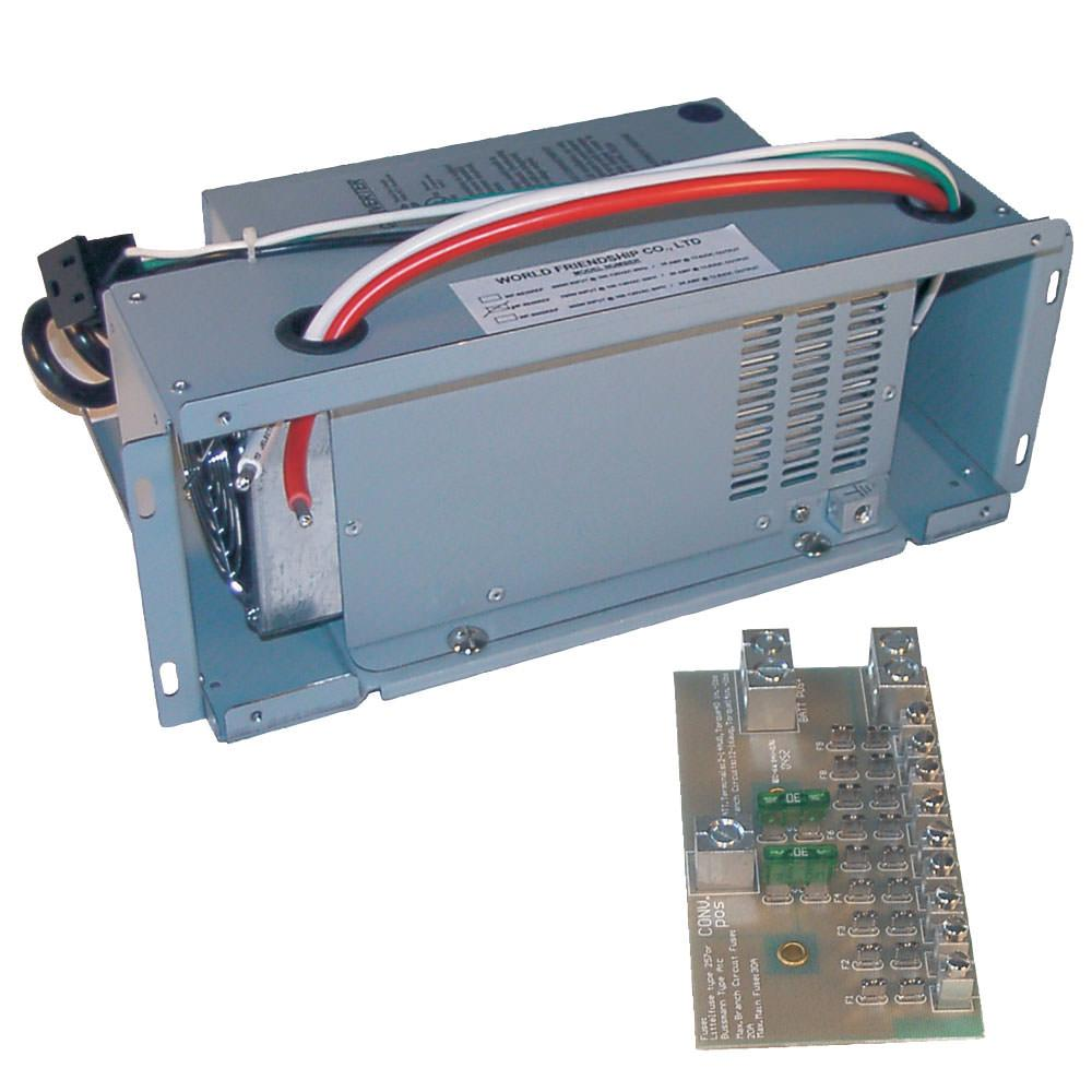 Rv Power Converters Chargers Camping World Distribution Transformer Electrical Components Pinterest Wfco 45 Amp Universal Replacement Kit