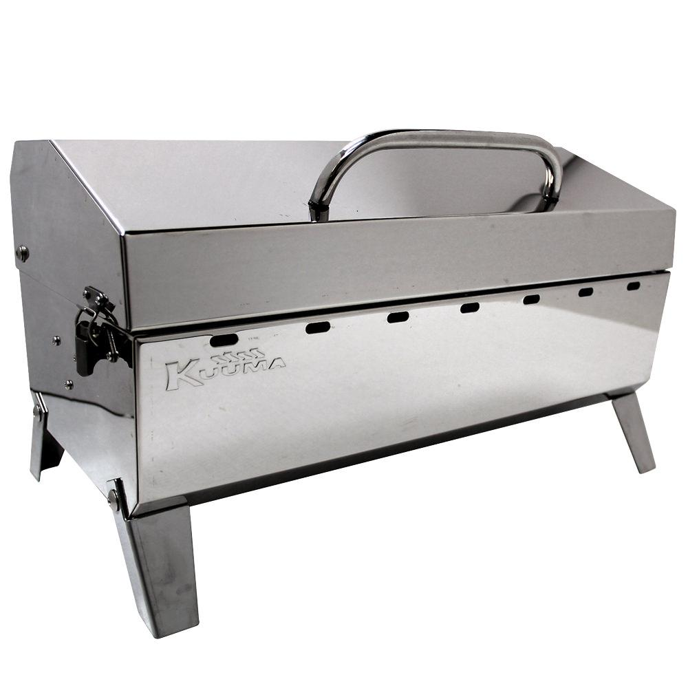 kuuma stainless steel grills charcoal grill camco 58110 charcoal grills camping world. Black Bedroom Furniture Sets. Home Design Ideas