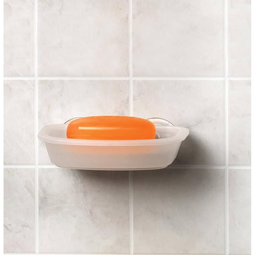 Suction Cup Bathroom Accessories Suction Cup Soap Dish Spectrum Diversified Designs 14250cwi