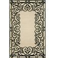 Spello Rug- Wrought Iron- 5.5 X 3.5, Black