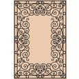 Tropez Collection Rug – Wrought Iron-Black 7'6