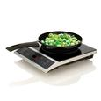 Portable Induction Cooktop with Skillet