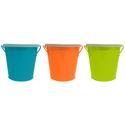4 oz. Mini Bucket Citronella Candle, Assorted Colors