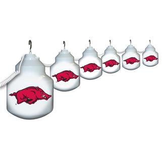 Collegiate Patio Globe Lights, 6 light sets-Arkansas