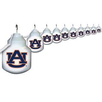 Collegiate Patio Globe Lights, 10 light sets-Auburn