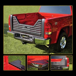 Louvered Tailgate-Dodge 02 1500; Dodge 03-08 1500, 2500 & 3500; Dodge 09 1500 functional fit only; Dodge 09 2500 & 3500