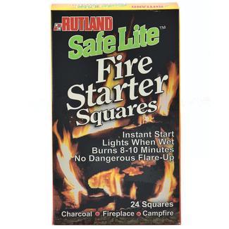 Safe Lite Fire Starter Squares