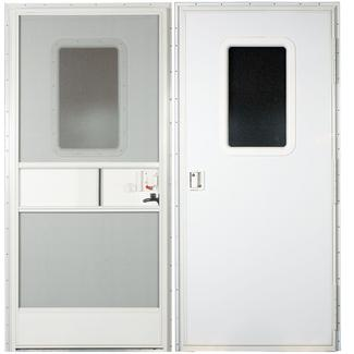 Square Door-RH-30X72 - Polar White