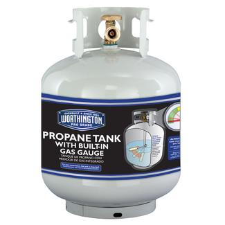 Refillable Steel Propane Cylinder-20 lb. / 4.7 gal with Gas Gauge