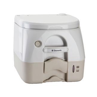 Dometic Portable RV/Marine Toilet - 2.6 Gallon, Tan