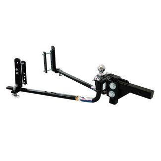 Fastway e2 Round Bar Weight Distribution Hitch with Sway Control & Hitch Ball