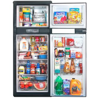 Norcold Refrigerator with Ice Maker 9.5 - Stainless Steel