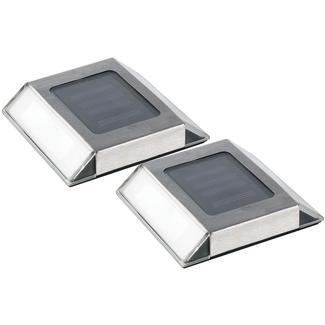 Nature Power Solar Pathway Lights, 2-Pack