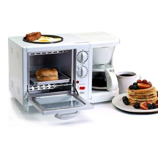 3-in-1 Multifunction Breakfast Deluxe Center - White