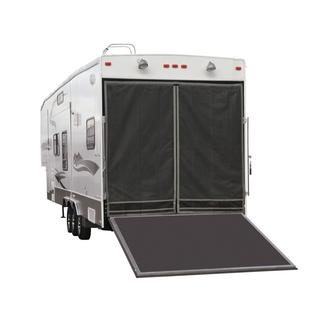 RV Toy Hauler Screen for Steel Frames