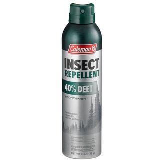 Coleman 40% DEET Sportsmen Insect Repellent, 6 oz. Aerosol