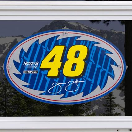 Xtreme PlaX - Jimmy Johnson #48 - Plaque Only
