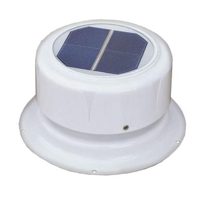 Solar-Powered Plumbing Vent Fan