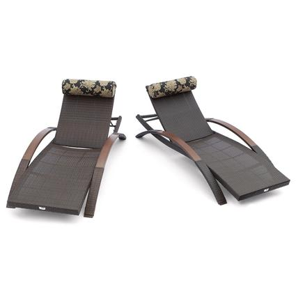 Delano Arc Lounger Set of 2