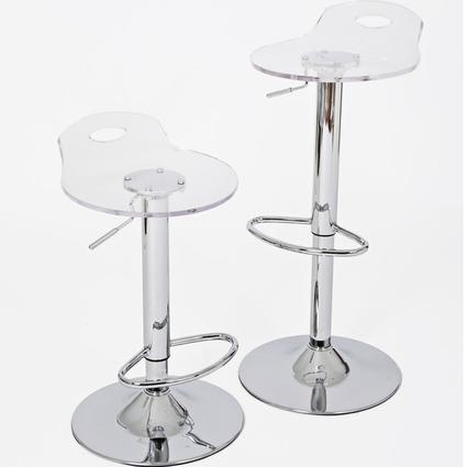 Acrylic Barstool - Set of 2