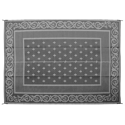 Patio Mat – Royal Design, Black/Silver