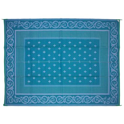Patio Mat – Royal Design, Blue