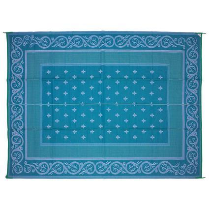 Patio Mat – Royal Design, Blue