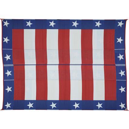 Patriotic Mat, 9' x 12'
