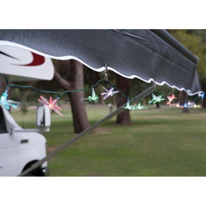 Dragonfly Solar String Lights