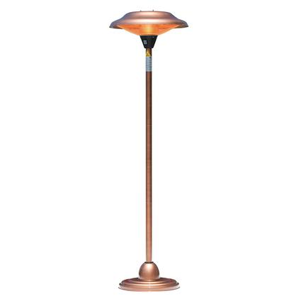 Fire Sense Halogen Patio Heater – Copper